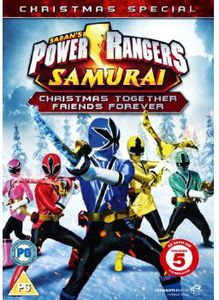 Power Rangers Samurai-Christmas Together Friends F [Import]