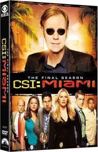 CSI Miami: The Tenth Season (The Final Season) , David Caruso