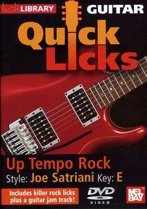 Quick Licks: Joe Satriani Up Tempo Rock - Key: E