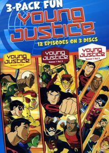 Young Justice: Season 1 Volumes 1, 2 & 3