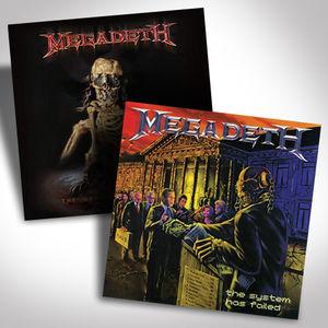 Megadeth Vinyl Bundle , Megadeth