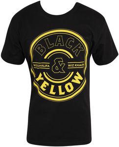 Wheel Men Standard T-shirt Black - L