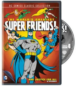 World's Greatest SuperFriends: The Complete Season Four: And Justice for All