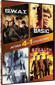 4 in 1 Action Collection: S.W.A.T. /  Basic /  Maximum Risk /  Stealth