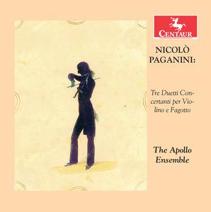 Paganini: Tre Duetti Concertanti Per Violino