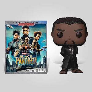 Black Panther Black Robe Blu-ray Bundle