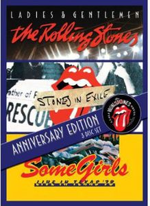 The Rolling Stones: Anniversary Edition: 3 Disc Set