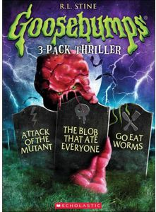 Goosebumps: Blob That Ate Everyone /  Go Eat Worms