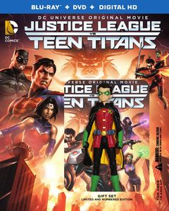 Justice League Vs. Teen Titans (Deluxe Edition With Robin Figurine)
