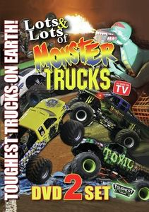 Lots and Lots of Monster Trucks 2-DVD Set W/ Poster
