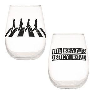Beatles Abbey Road 2 Pc. 18 Oz. Contour Glass Tumbler Set