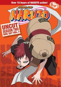 Naruto Uncut: Season 2 Volume 1 Box Set
