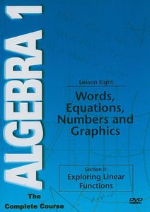 Words Equations Numbers Graphs