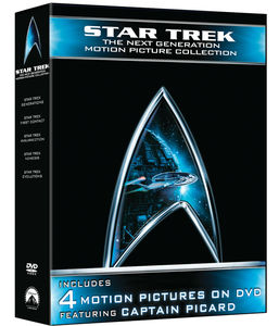 Star Trek - The Next Generation: Motion Picture Collection , Patrick Stewart