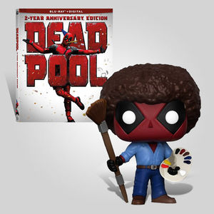 Deadpool 2 Year Anniversary Bob Ross Bundle