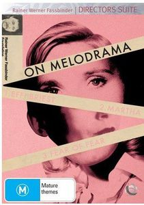 Fassbinder on Melodrama [Import]