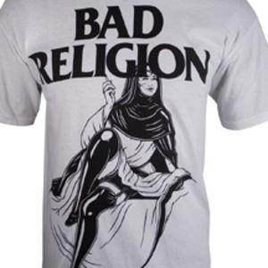 Sexy Nun Basic T-Shirt White - XXL