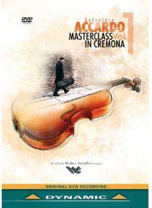 Salvatore Accardo: Masterclass in Cremona 1