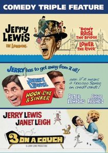 Jerry Lewis Comedy Triple Feature