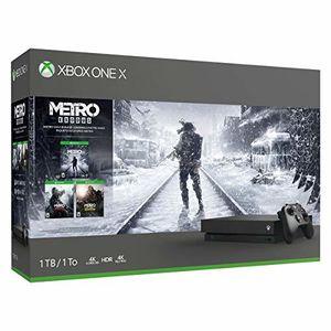 Microsoft Xbox One X 1TB Console - Metro Trilogy Bundle