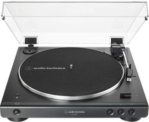 Audio Technica AT-LP60XBT-BK Fully Automatic Wireless Belt-Drive Turntable (Black)