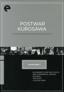 Postwar Kurosawa (Criterion Collection - Eclipse Series 7)