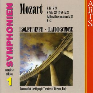 Early Symphonies 1
