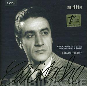 Edition Sergiu Celibidache - Comp Rias Recordings