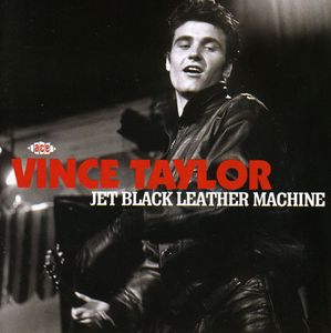 Jet Black Leather Machine [Import]