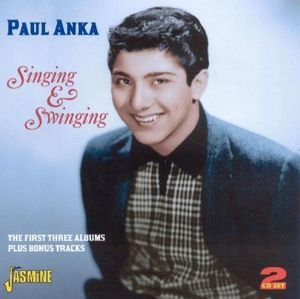 Singing and Swinging/ 1St [3 LP] [2 CDs] [Import] , Paul Anka
