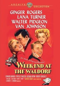 Week-End at the Waldorf , Ginger Rogers
