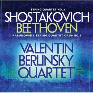 String Quartet No 3 /  Rasumovsky String Quartet