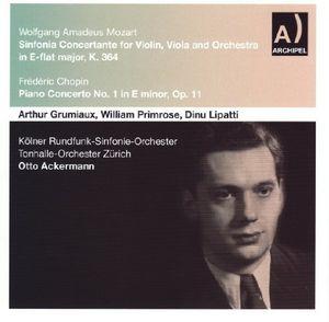 Sinfonia Concertante for Violin & Viola