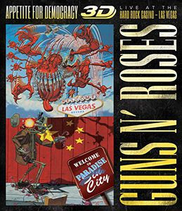 Appetite for Democracy 3D: Live at the Hard Rock [Import]