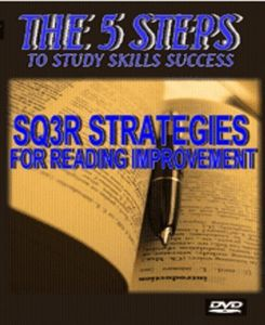 The 5 Steps - SQ3R Strategies - For Reading Improvement