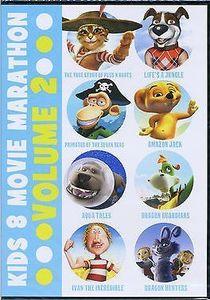 Kids 8 Movie Marathon: Volume 2