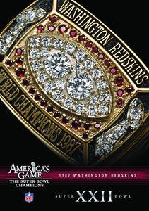 Nfl America's Game: 1987 Redskins (Super Bowl XXII)