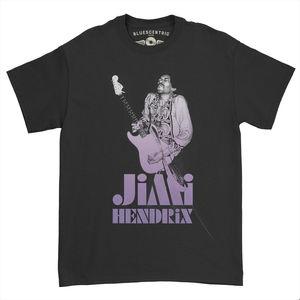 Jimi Hendrix 1968 Ltd. Edition Black Heavy Cotton Style T-Shirt (XL)