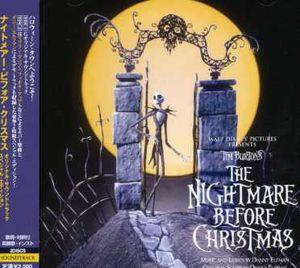 The Nightmare Before Christmas (Original Soundtrack) [Import]