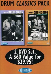 Drum Classics Pack: Classic Drum Solos and Drum Battles: Volume 1 and 2