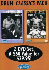 Drum Classics Pack: Classic Drum Solos and Drum Battles: Volume 1 and 2