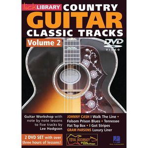 Learn Country Guitar Classic Tracks, Volume 2