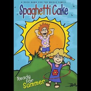 Spaghetti Cake Ready for Summer