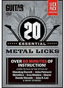 20 Essential Metal Licks