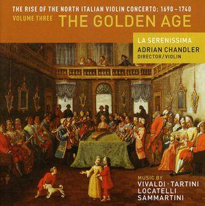 Rise of North Italian Violin Concerto 3: Golden