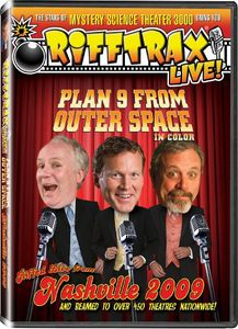 Rifftrax: Live! Plan 9 From Outer Space