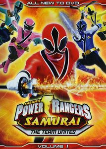 Power Rangers Samurai: The Team Unites: Volume 1