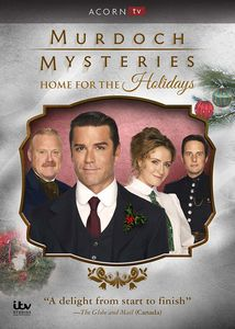 Murdoch Mysteries: Home For The Holidays , Yannick Bisson