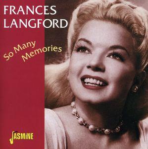 So Many Memories [Import] , Frances Langford