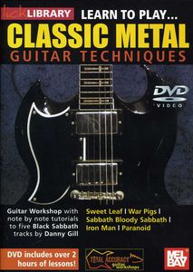 Guitar Techniques: Learn to Play Classic Metal